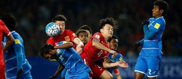 China must beat Qatar to have any chance of qualifying for the World Cup.