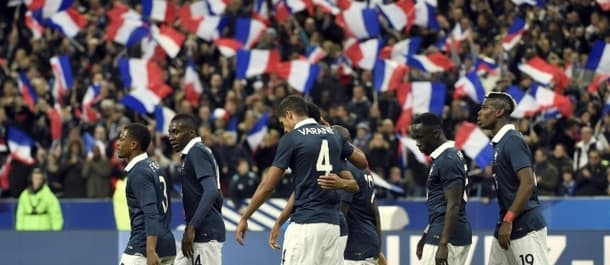 Celebrations were muted as France beat Germany on the night of the Paris attacks.