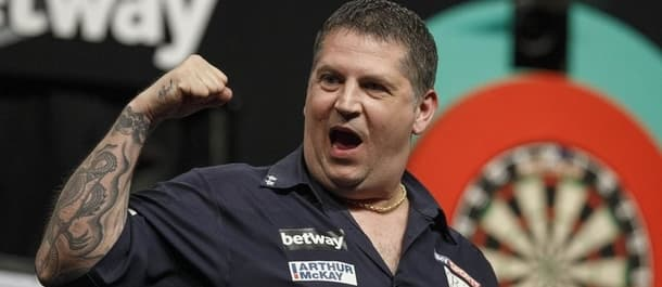 Gary Anderson has won his last six Premier League games in a row.