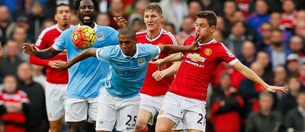 Manchester United and Manchester City are in a battle for Champions League qualification.