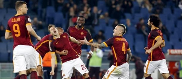 Roma have won six Serie A matches in a row.