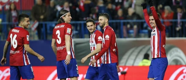 Atletico Madrid have won 17 games to nil this season.