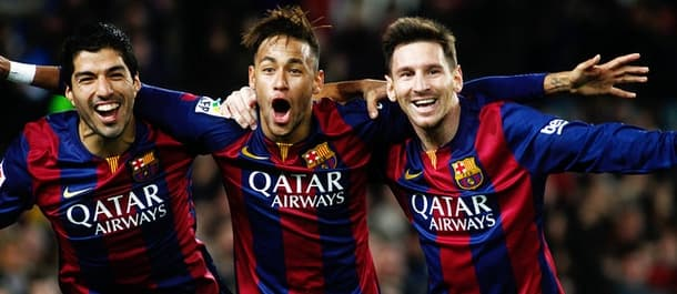Barcelona are unbeaten in a record 35 games.