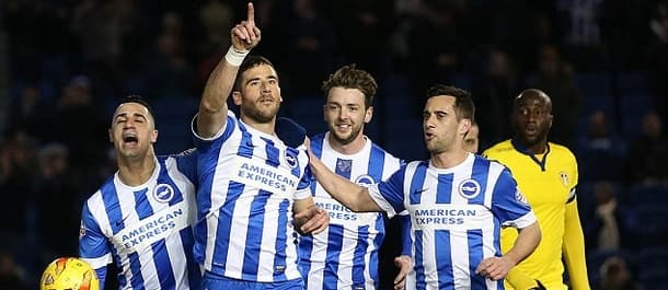 Brighton have won 12 of their 18 home games this season.