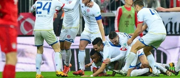 Mainz beat Bayern Munich in midweek.