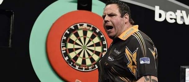 Adrian Lewis hit a stunning nine-darter in last wee.k's Premier League