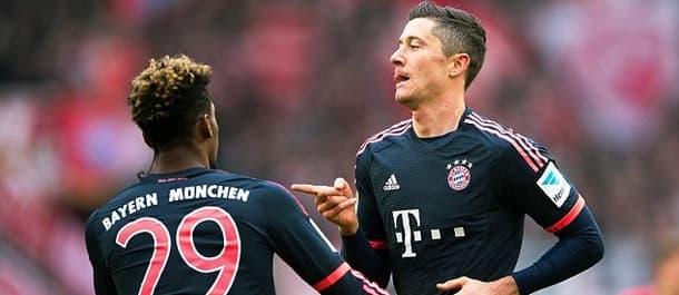 Bayern need just six points to retain the Bundesliga title.
