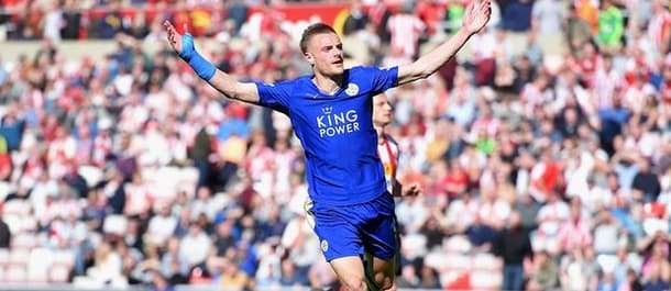 Leicester have scored in 30 of 33 matches this season.