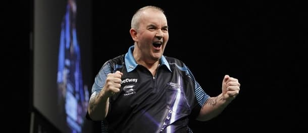 Phil Taylor is already assured of a place in the play offs.