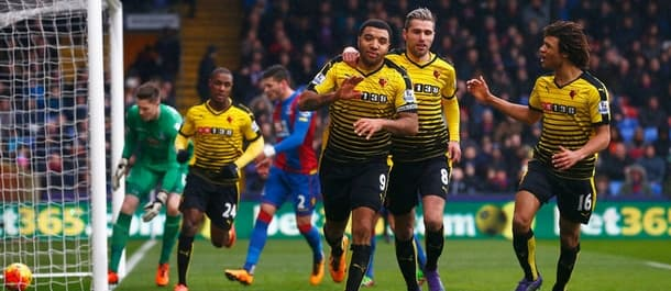 Watford beat Palace 2-1 when they met in February.