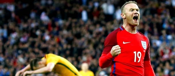 Wayne Rooney found the net in England's 2-1 win against Australia.