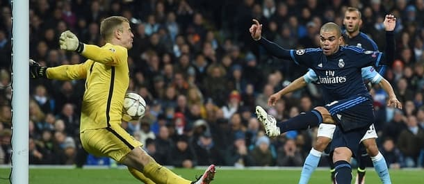 Manchester City and Real Madrid played out a surprise 0-0 draw last week.
