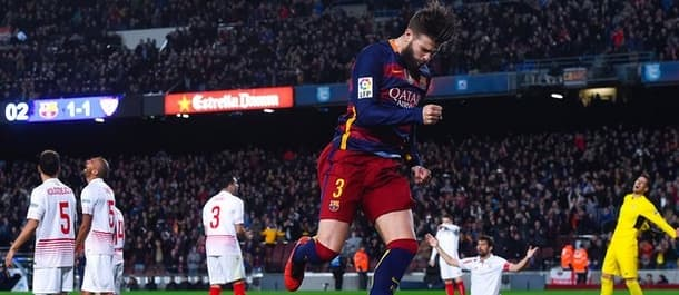 Barcelona and Sevilla have both scored in their last nine meetings.