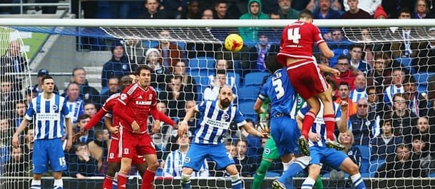 The winner takes all as Boro and Brighton battle for promotion.
