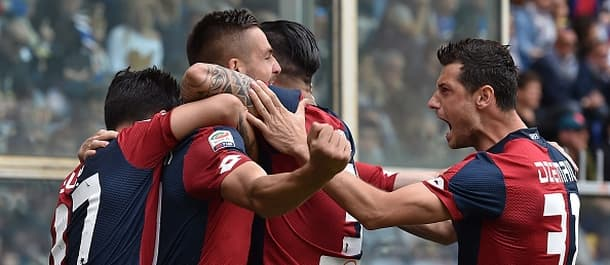 Genoa can see their season out in style on Sunday.