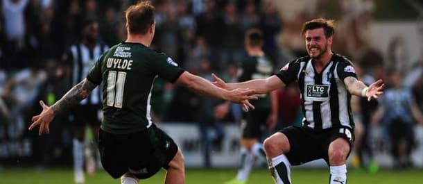 Plymouth face Wimbledon in the League Two play off final at Wembley.