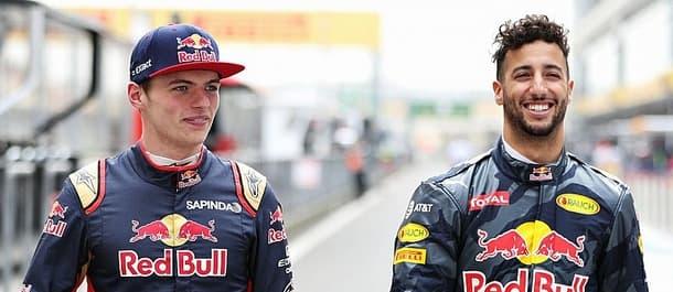 Ricciardo and Verstappen make up the new Red Bull team.