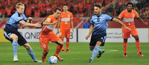 Shandong and Sydney battle it out for a place in the last eight of the AFC Champions League.