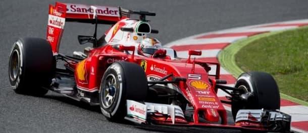 Sebastian Vettel won the Australian Grand Prix.