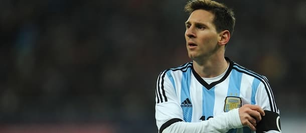 Lionel Messi is yet to win international honours with Argentina.