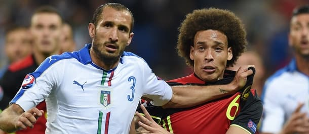 Italy showed their defensive prowess against Belgium.