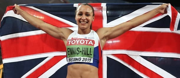 Jessica Ennis-Hill is popular among British Athletic fans.