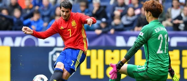 Alvaro Morata should lead the line for Spain in the Euros.