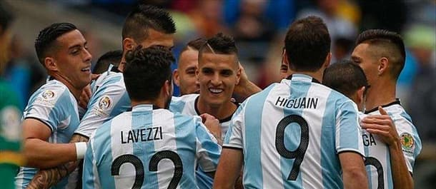Argentina have won all three group games at the Copa America.