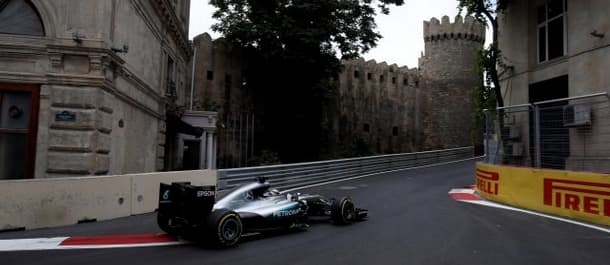 The circuit at Baku should suit Mercedes cars.