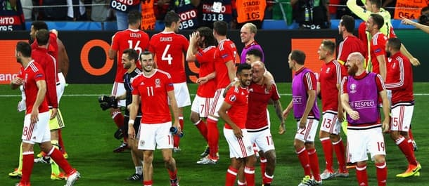 Wales face Northern Ireland in the round of 16.