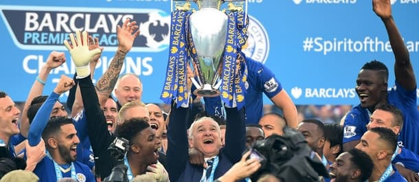 Leicester were shock winners of last year's Premier League.