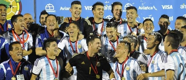 Argentina won the 2015 South American U-20 Championship.