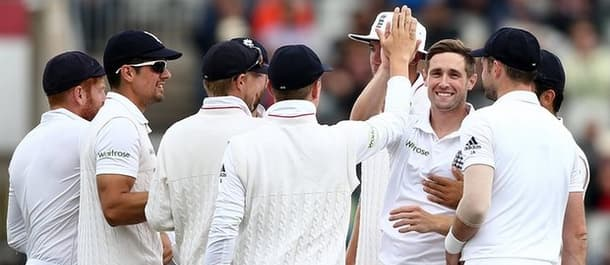 England bounced back to thump Pakistan by 330 runs at Old Trafford.