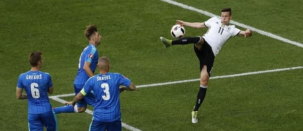 Germany recorded a comfortable 3-0 victory over Slovakia in the round of 16.