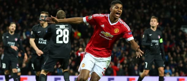 Marcus Rashford may get plenty of playing time in this year's Europa League.