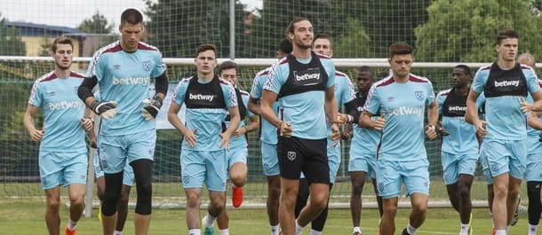 West Ham have been training in Austria ahead of Thursday's Europa League Qualifier.