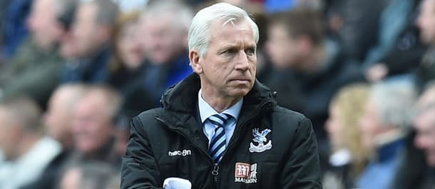 Alan Pardew has a poor 2016 record at Crystal Palace.