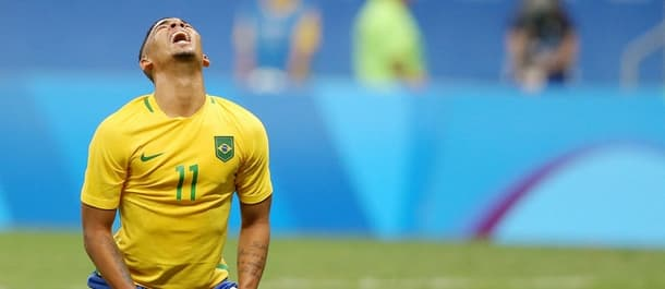 Brazil are on the verge of Olympic elimination on home soil.