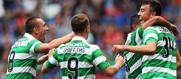 Leigh Griffiths goal put Celtic in command against FC Astana.