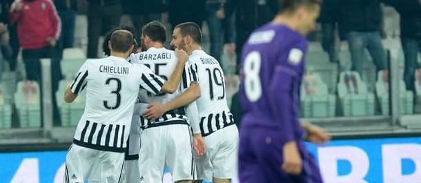 Juventus have beaten Fiorentina the last four times they've played.