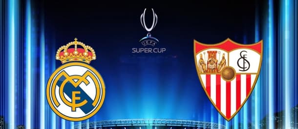Real Madrid and Sevilla go head-to-head in tonight's UEFA Super Cup.