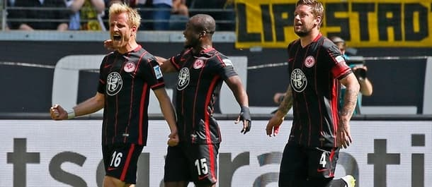 Frankfurt have conceded the least shots on target in this year's Bundesliga.
