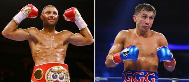 Golovkin and Brook are both undefeated going into their bout on Saturday.