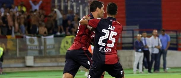 There have been no clean sheets in any Cagliari game so far this season.