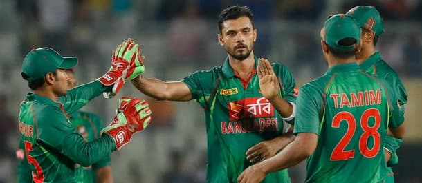 Bangladesh have won 17 of the last 20 home one day internationals.