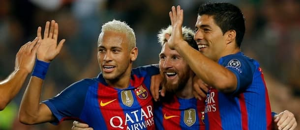 Barcelona beat Celtic 7-0 in their last home Champions League tie.
