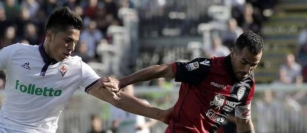 Cagliari's last two Serie A games have featured 13 goals.
