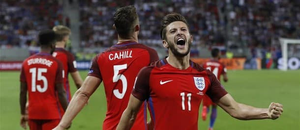 Adam Lallana scored the only goal in the win over Slovakia.
