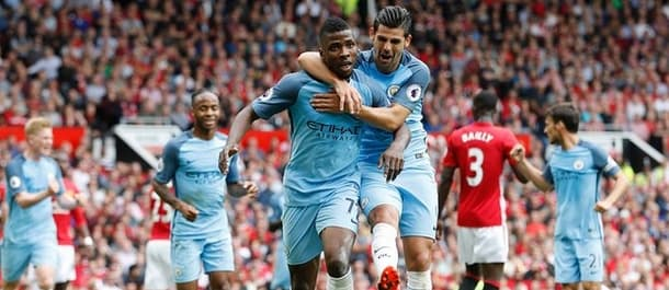 Manchester City won 2-1 at Old Trafford in September.