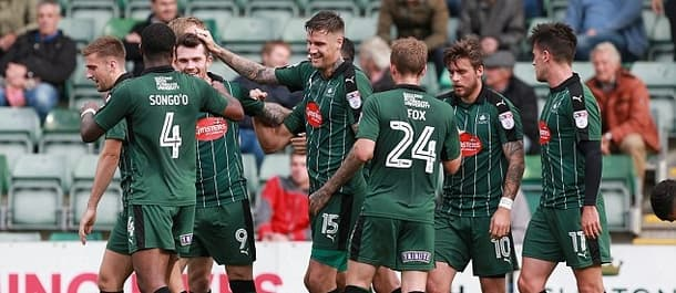 Plymouth are five points clear at the top of League Two.